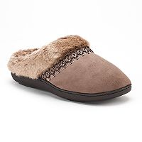 Women's isotoner Nola Microsuede Clog Slippers
