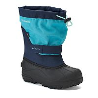 Columbia Powerbug Plus II Kids' Waterproof Winter Boots