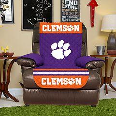 Pegasus Home Fashions Clemson Tigers Sofa Protector