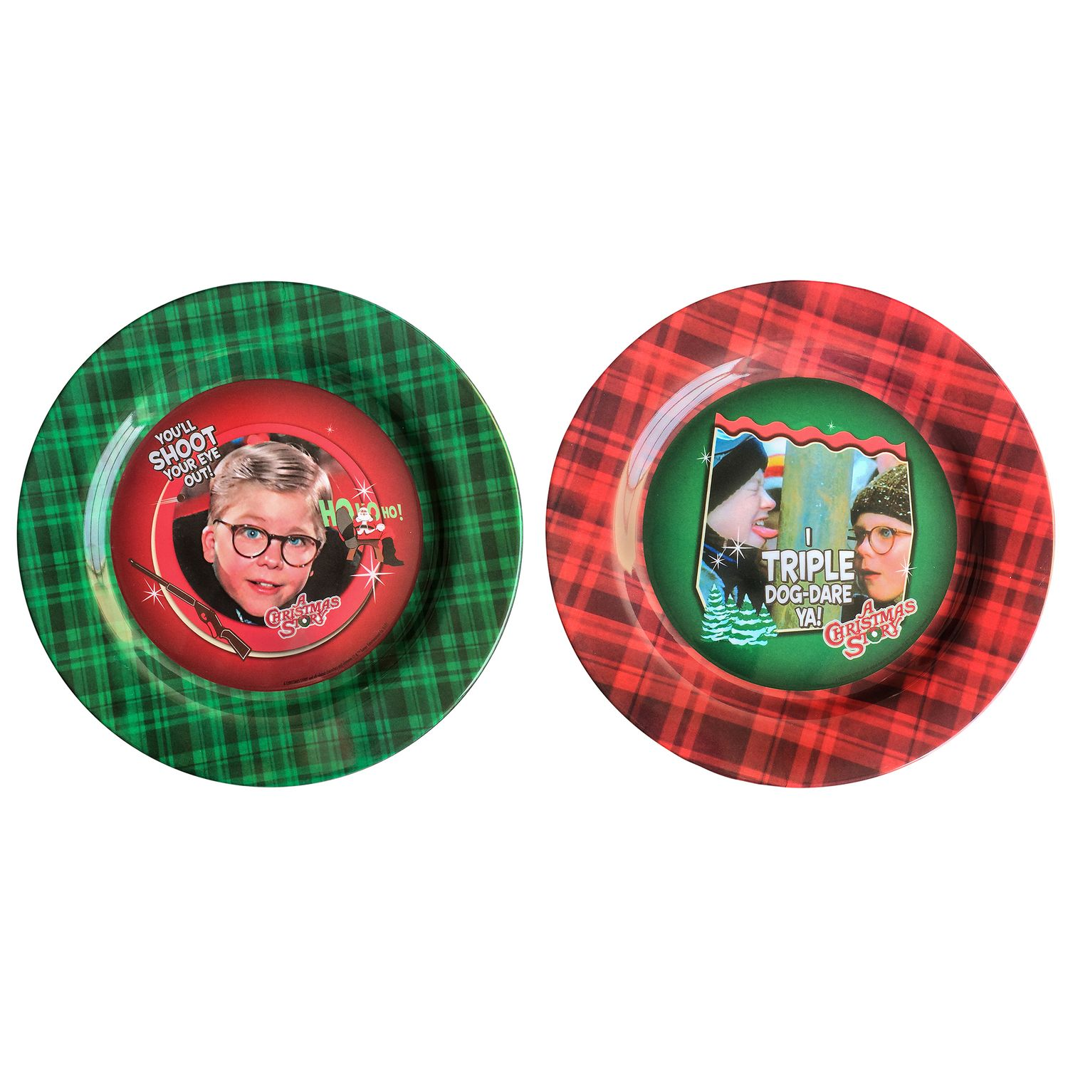 A Christmas Story 2-pack Melamine Plates by ICUP  sc 1 st  Kohl\u0027s & A Christmas Story 2-pack Melamine Plates by ICUP | null