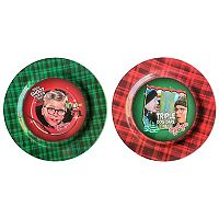 A Christmas Story 2-pack Melamine Plates by ICUP