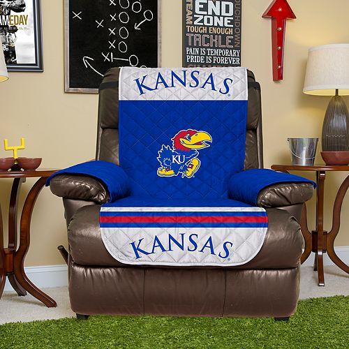 Pegasus Sports Kansas Jayhawks Recliner Protector