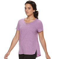 Women's Tek Gear® Criss-Cross Performance Tee