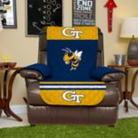 Pegasus Sports Georgia Tech Yellow Jackets Recliner Protector