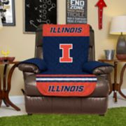 Pegasus Sports Illinois Fighting Illini Recliner Protector