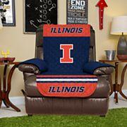 Pegasus Home Fashions Illinois Fighting Illini Sofa Protector