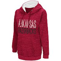 Women's Campus Heritage Arkansas Razorbacks Throw-Back Pullover Hoodie