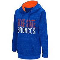 Women's Campus Heritage Boise State Broncos Throw-Back Pullover Hoodie