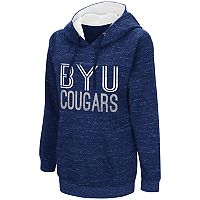 Women's Campus Heritage BYU Cougars Throw-Back Pullover Hoodie