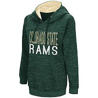 Women's Campus Heritage Colorado State Rams Throw-Back Pullover Hoodie