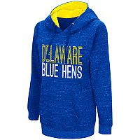 Women's Campus Heritage Delaware Blue Hens Throw-Back Pullover Hoodie