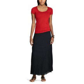 Women's Chaps Jersey Short Sleeve Tee