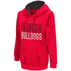 Women's Campus Heritage Georgia Bulldogs Throw-Back Pullover Hoodie