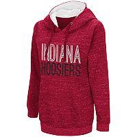 Women's Campus Heritage Indiana Hoosiers Throw-Back Pullover Hoodie