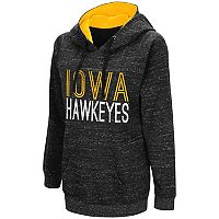 Women's Campus Heritage Iowa Hawkeyes Throw-Back Pullover Hoodie
