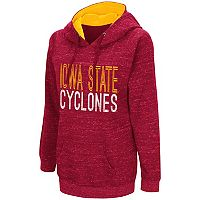 Women's Campus Heritage Iowa State Cyclones Throw-Back Pullover Hoodie