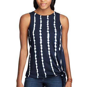 Women's Chaps Jersey Tie-Dye Sleeveless Tee