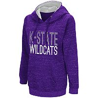 Women's Campus Heritage Kansas State Wildcats Throw-Back Pullover Hoodie