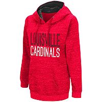 Women's Campus Heritage Louisville Cardinals Throw-Back Pullover Hoodie
