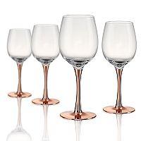 Artland Coppertino 4 pc Wine Glass Set