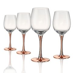 Artland Coppertino 4-pc. Wine Glass Set