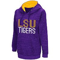 Women's Campus Heritage LSU Tigers Throw-Back Pullover Hoodie