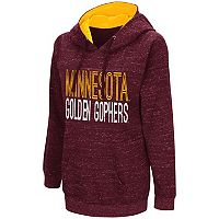 Women's Campus Heritage Minnesota Golden Gophers Throw-Back Pullover Hoodie