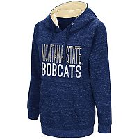 Women's Campus Heritage Montana State Bobcats Throw-Back Pullover Hoodie