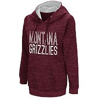 Women's Campus Heritage Montana Grizzlies Throw-Back Pullover Hoodie
