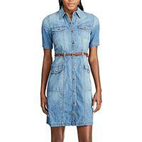 Women's Chaps Denim Shirt Dress