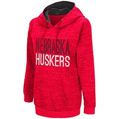 Women's Campus Heritage Nebraska Cornhuskers Throw-Back Pullover Hoodie