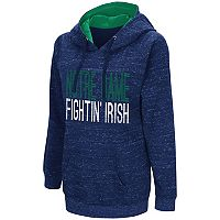 Women's Campus Heritage Notre Dame Fighting Irish Throw-Back Pullover Hoodie
