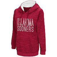 Women's Campus Heritage Oklahoma Sooners Throw-Back Pullover Hoodie