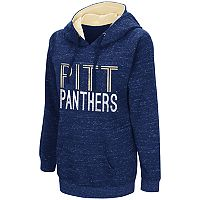 Women's Campus Heritage Pitt Panthers Throw-Back Pullover Hoodie