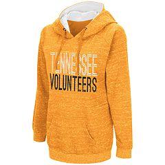 Women's Campus Heritage Tennessee Volunteers Throw-Back Pullover Hoodie