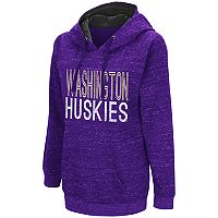 Women's Campus Heritage Washington Huskies Throw-Back Pullover Hoodie