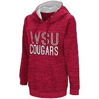 Women's Campus Heritage Washington State Cougars Throw-Back Pullover Hoodie