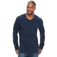 Big & Tall SONOMA Goods for Life™ Flexwear Slim-Fit Stretch V-Neck Tee