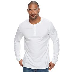 Big & Tall SONOMA Goods for Life™ Flexwear Slim-Fit Stretch Henley
