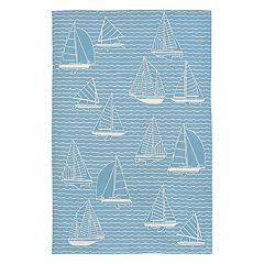 Liora Manne Capri Sails Indoor Outdoor Rug