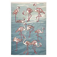 Trans Ocean Imports Liora Manne Frontporch Flamingo Indoor Outdoor Rug
