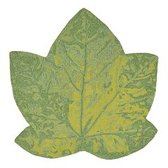 Liora Manne Frontporch Maple Leaf Indoor Outdoor Rug - 3' x 3'