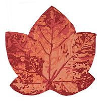 Trans Ocean Imports Liora Manne Frontporch Maple Leaf Indoor Outdoor Rug - 3' x 3'