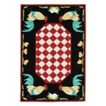 Trans Ocean Imports Liora Manne Frontporch Rooster Indoor Outdoor Rug