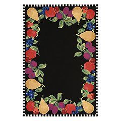 Liora Manne Frontporch Fruits Indoor Outdoor Rug