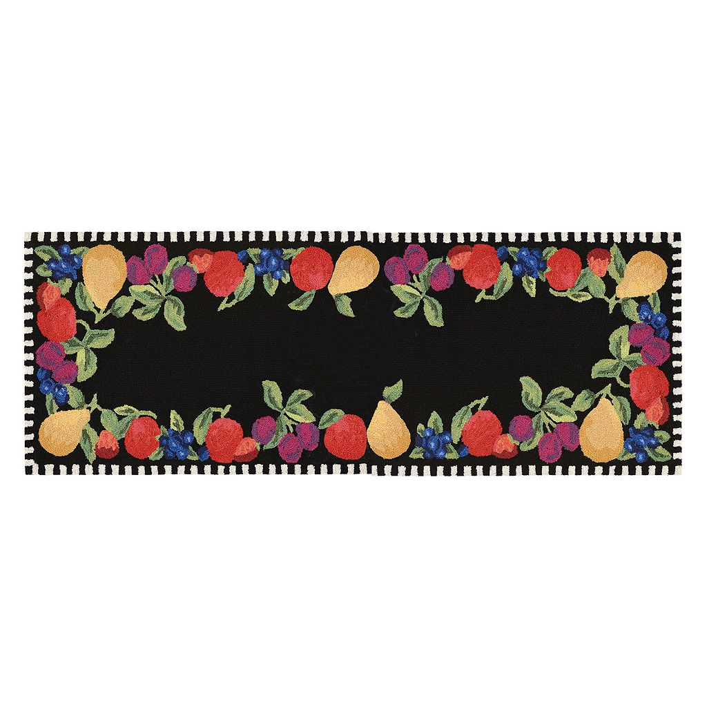 Trans Ocean Imports Liora Manne Frontporch Fruits Indoor Outdoor Rug