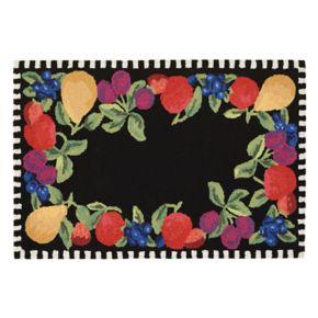 Liora Manne Frontporch Fruits Indoor Outdoor Rug