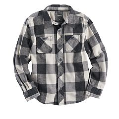 Boys 4-7x SONOMA Goods for Life™ Plaid Button-Down Shirt