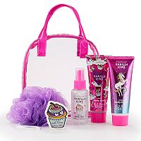 Girls 4-16 Unicorn Bath Set