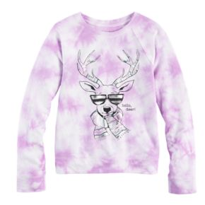 Girls 7-16 & Plus Size Mudd® Graphic Pullover Sweatshirt
